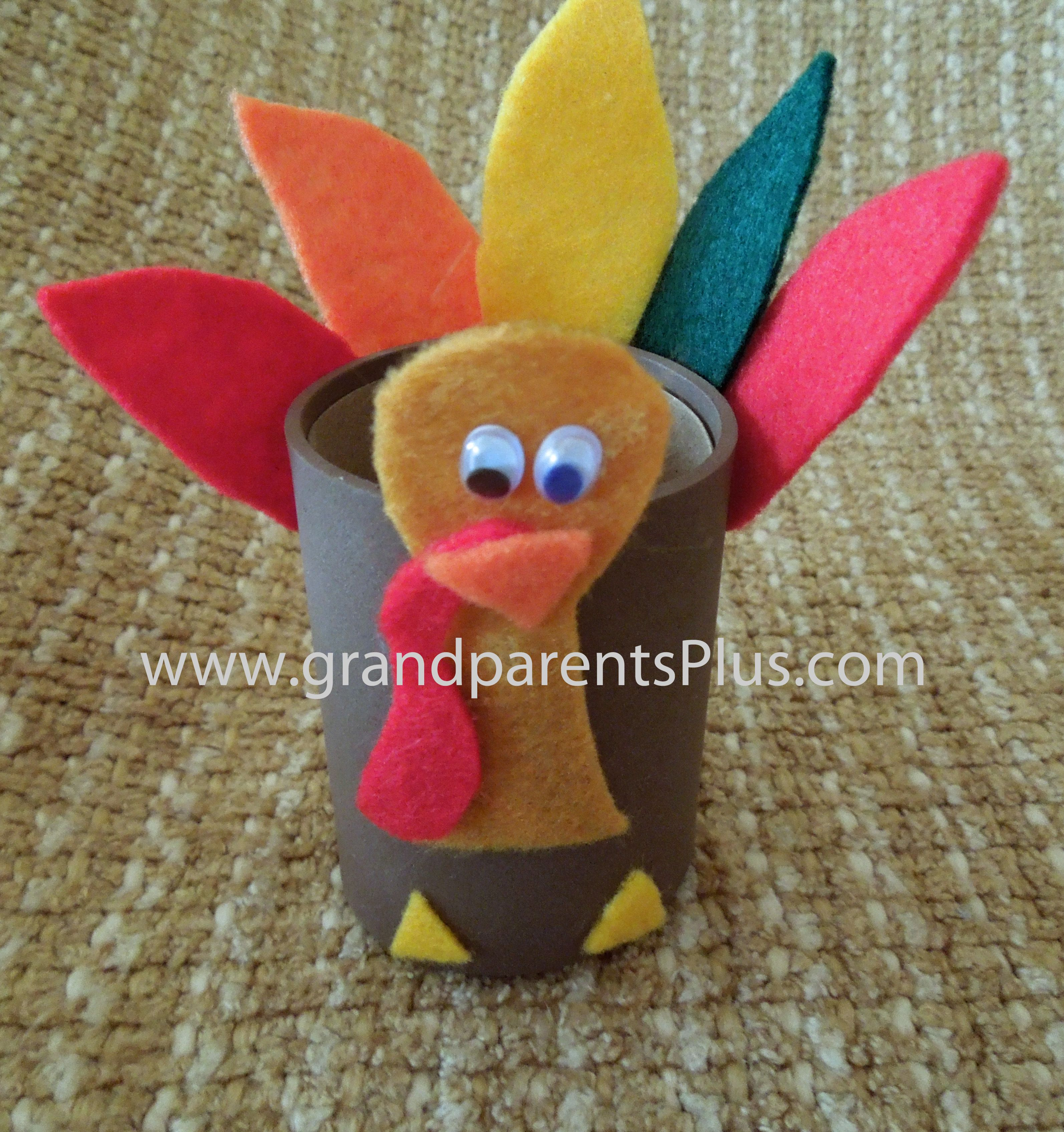 toilet paper craft ideas inexpensive easy thanksgiving favor fill with 5607