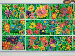 La grande soaz arts visuels l 39 cole maternelle - Fleurs printemps maternelle ...