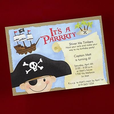 Pirate on board birthday invitation shimmer its a paaaarty with pirate on board birthday invitation shimmer its a paaaarty with this shimmery pirate stopboris Image collections