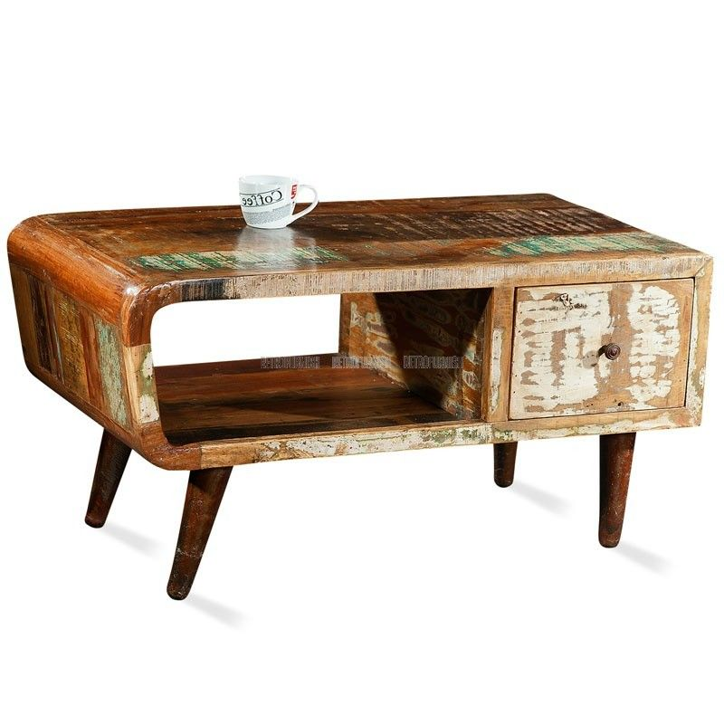 Tribeca Coffee Table | Industrial Collection | RetroFurnish