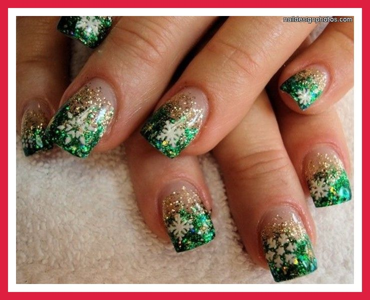 Christmas Tree Nails Tumblr Cute Pointy Nails Tumblr Cute Gel