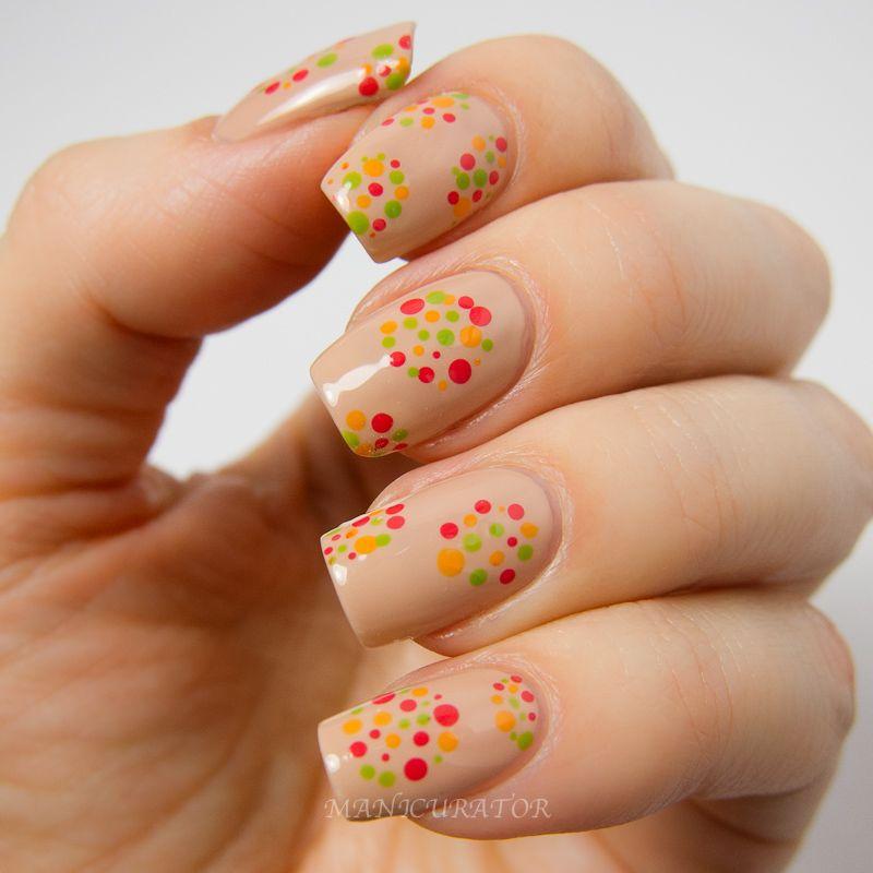 Spring Polka Dots (nail polish manicure) at manicurator: Dior Vernis ...