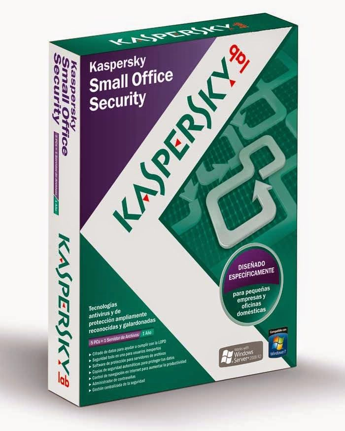 Kaspersky Small Office Security 3.0 Final V13 with crack is security software to protect information systems departments with limited staff