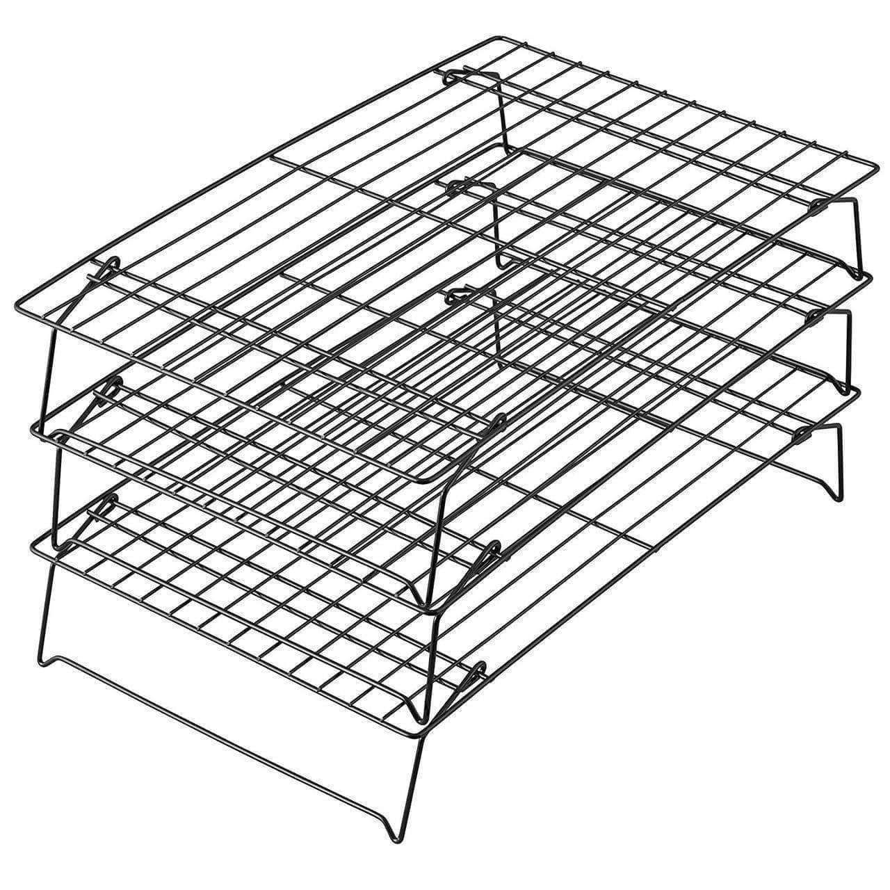Elite 3 Tier Cooling Rack For Cookies Cakes Dealsdot Com Cooling Racks Wilton Cakes And More