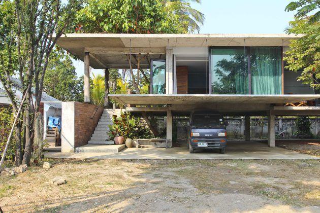Humble house chiangmai arquitectura pinterest casas - Casas de madera y mas com ...
