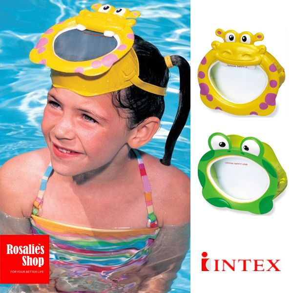 2d8b96ea0221 Aliexpress.com   Buy Cartoon animal Swim mask Frog Hippopotamus style Swimming  Goggles Diving masks water toys for Children kids from Reliable toy chest  ...