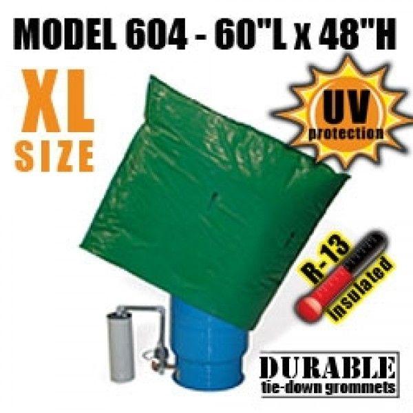 Dekorra Model 604 Well Pressure Tank Backflow Insulation Bag Well Pressure Tank Well Tank Fake Rock Covers