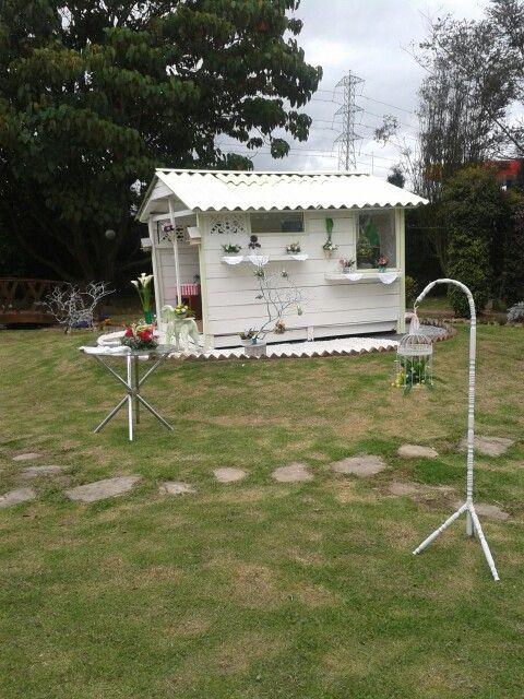 Mi casita de  postres  y flores