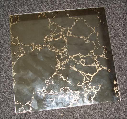 Vintage Mirrored Gold Vein Tile In 2019 Mirror Tiles
