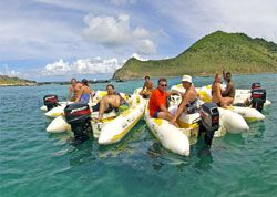Rhino Riders Snorkeling Adventure Eastern Caribbean Cruises Southern Caribbean Cruise Navigator Of The Seas