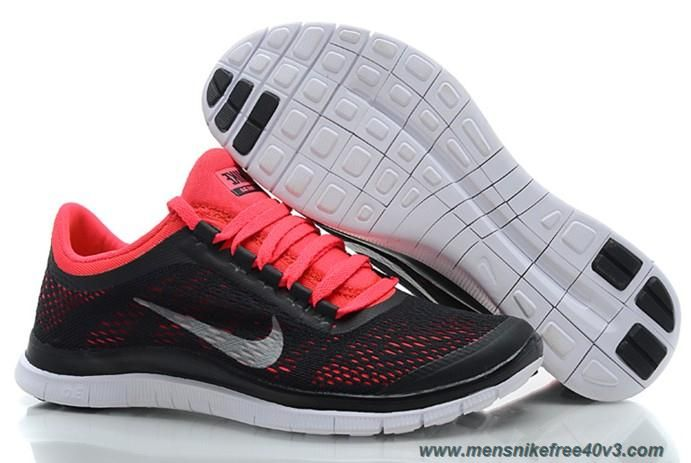 more photos 6ed74 10720 Nike Free 3.0 V5 580392-006 Black Red Silver Shoes Womens Online