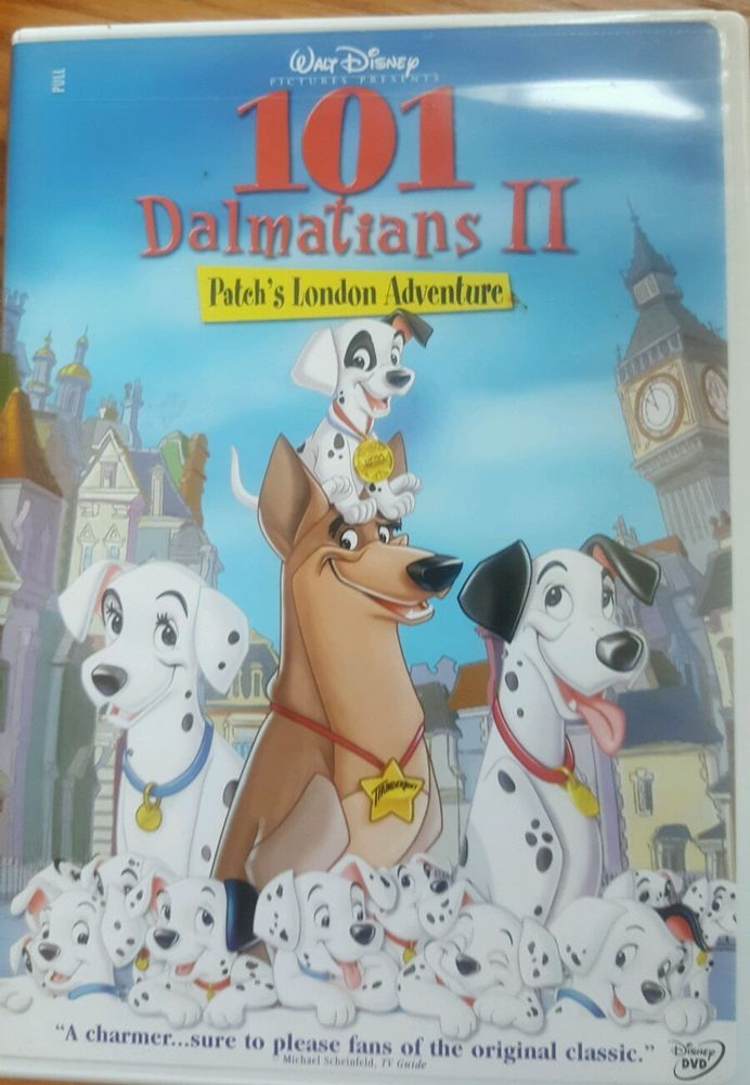 Disney S 101 Dalmations Ii Patch S London Adventure Dvd 2002