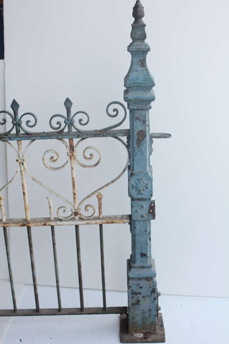 Custom Made Antique Cast Iron Fence For Sale At 1stdibs Cast