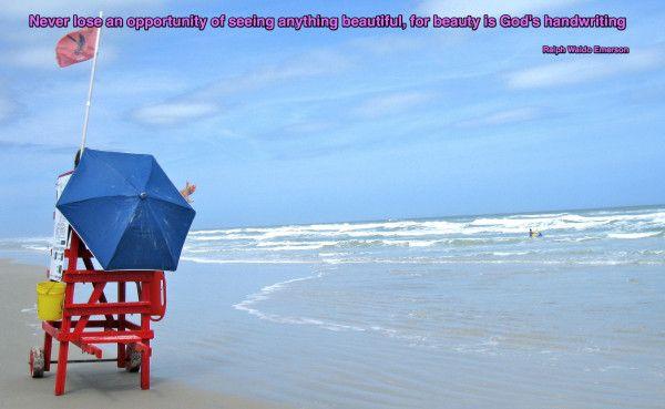 """Beauty is God's handwriting"" ......."