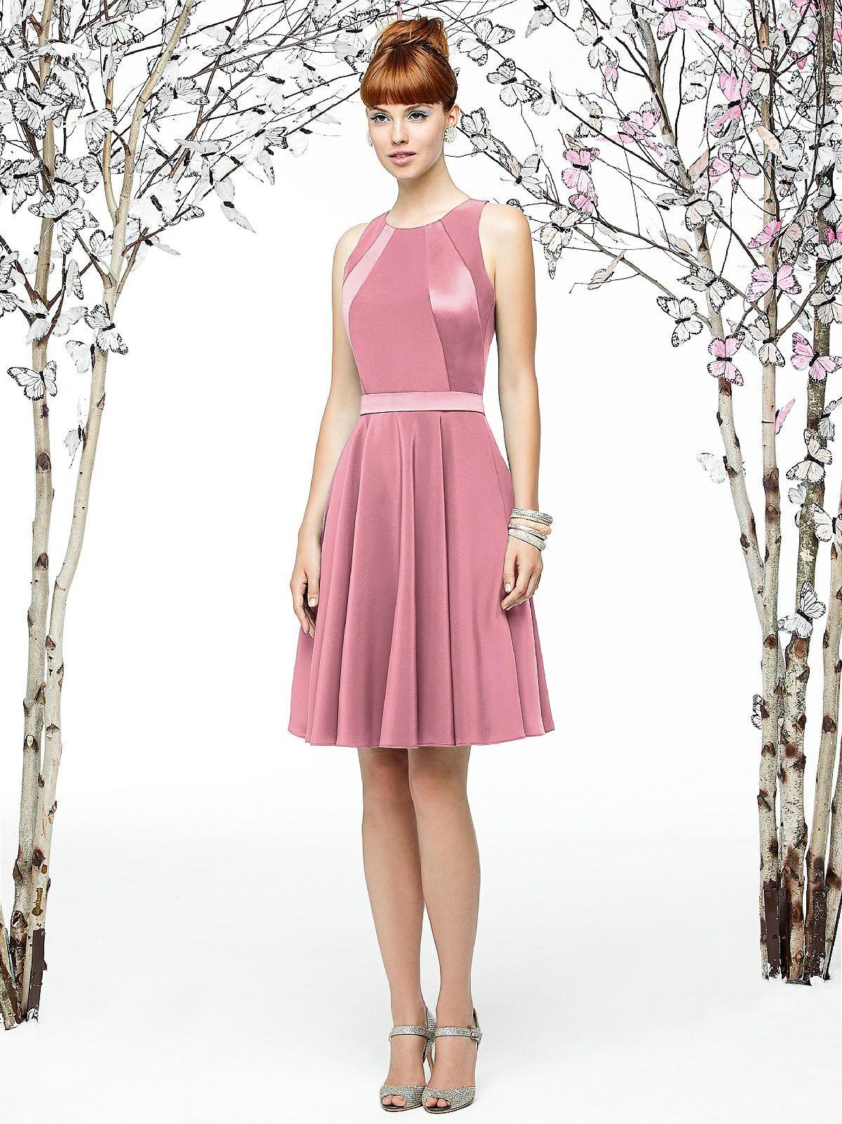 Asombroso Vestido De Novia Rosa Lela Friso - Colección de Vestidos ...