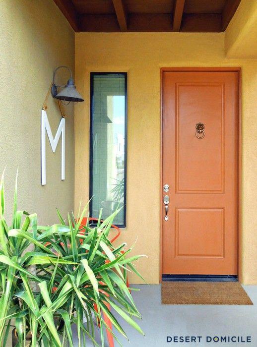 Mid Century Modern Front Door Hardware