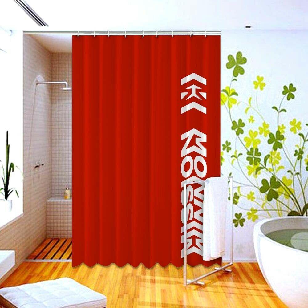 Best Red Mission Winnow Print On High Quality Shower Curtain 60 X 72 Unbranded Modern Shower Curtain Homeideas Vintageblinds Floral D G Katespade Dew Dengan Gambar