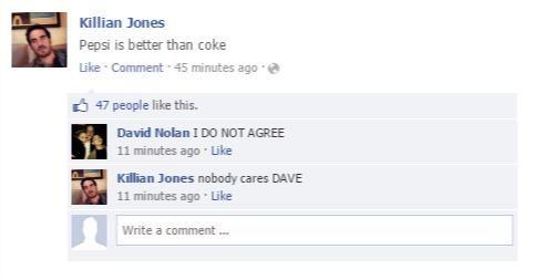 NOBODY CARES DAVE!