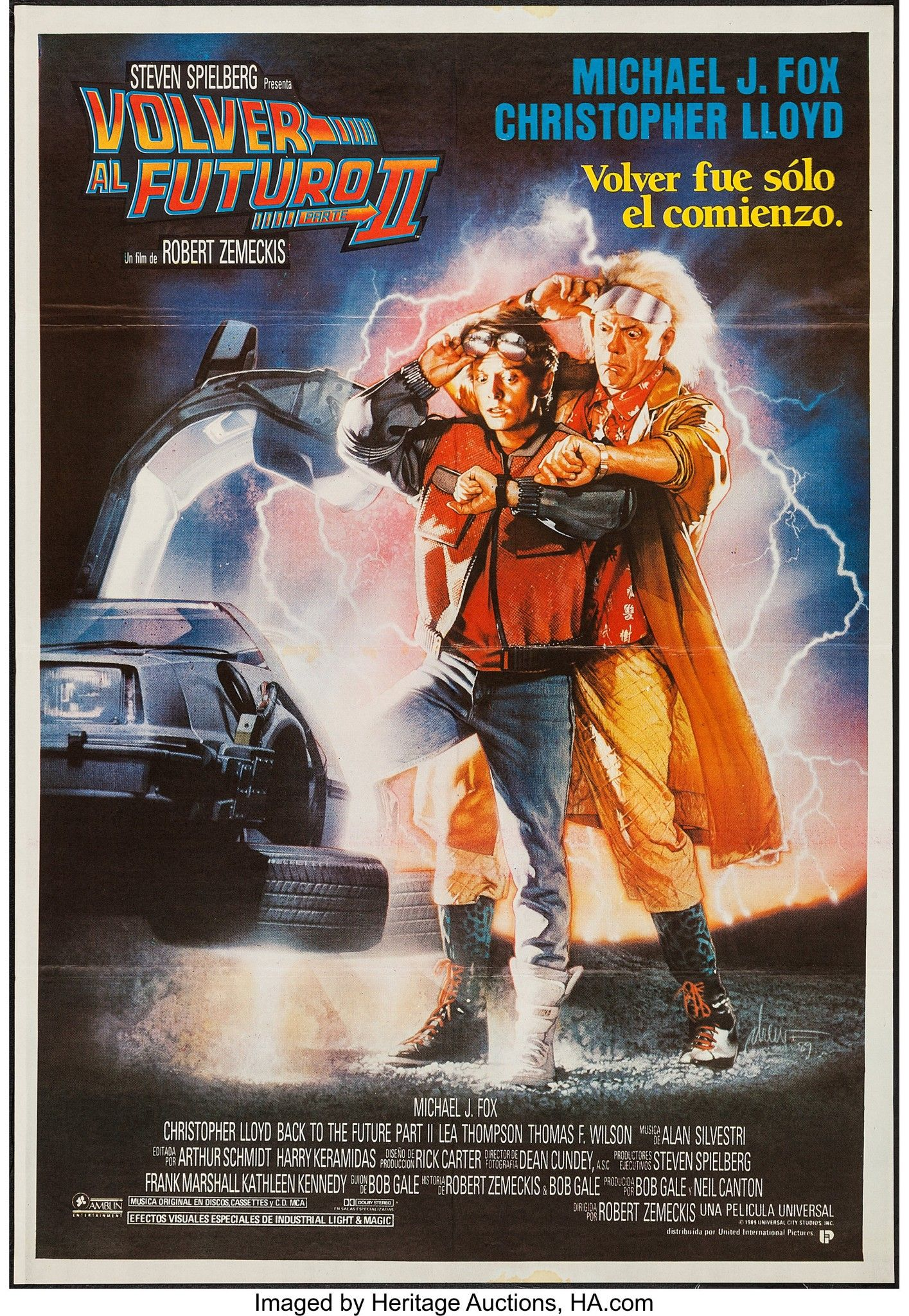 Back To The Future Part Ii 1989 With Images The Future Movie Movie Posters Vintage Back To The Future