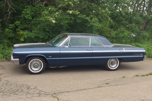 1964 Chevrolet Impala Side Profile 208263 Chevrolet Impala