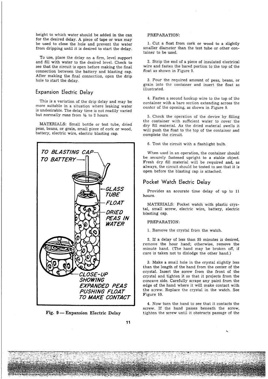Cia explosives for sabotage manual in 2020 study