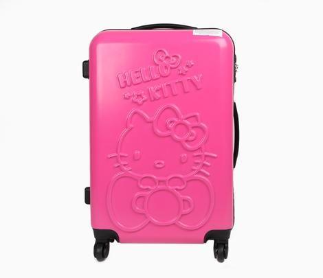 "Hello Kitty 24"" Suitcase: Pink Star"