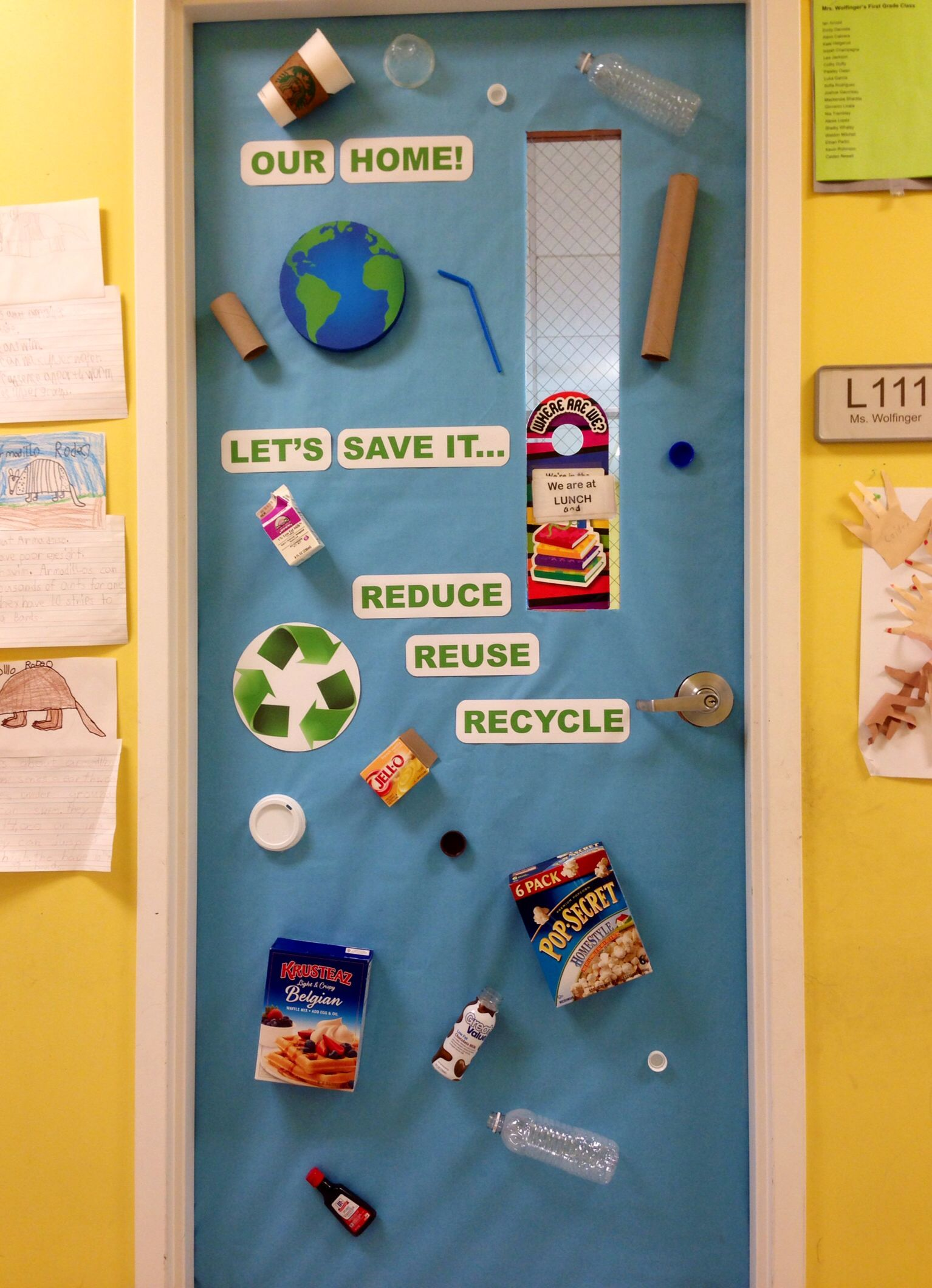 Classroom Management Decor ~ Earth day classroom door my decorated doors pinterest