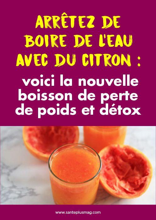 Arrêtez de boire de l'eau avec du citron : voici la