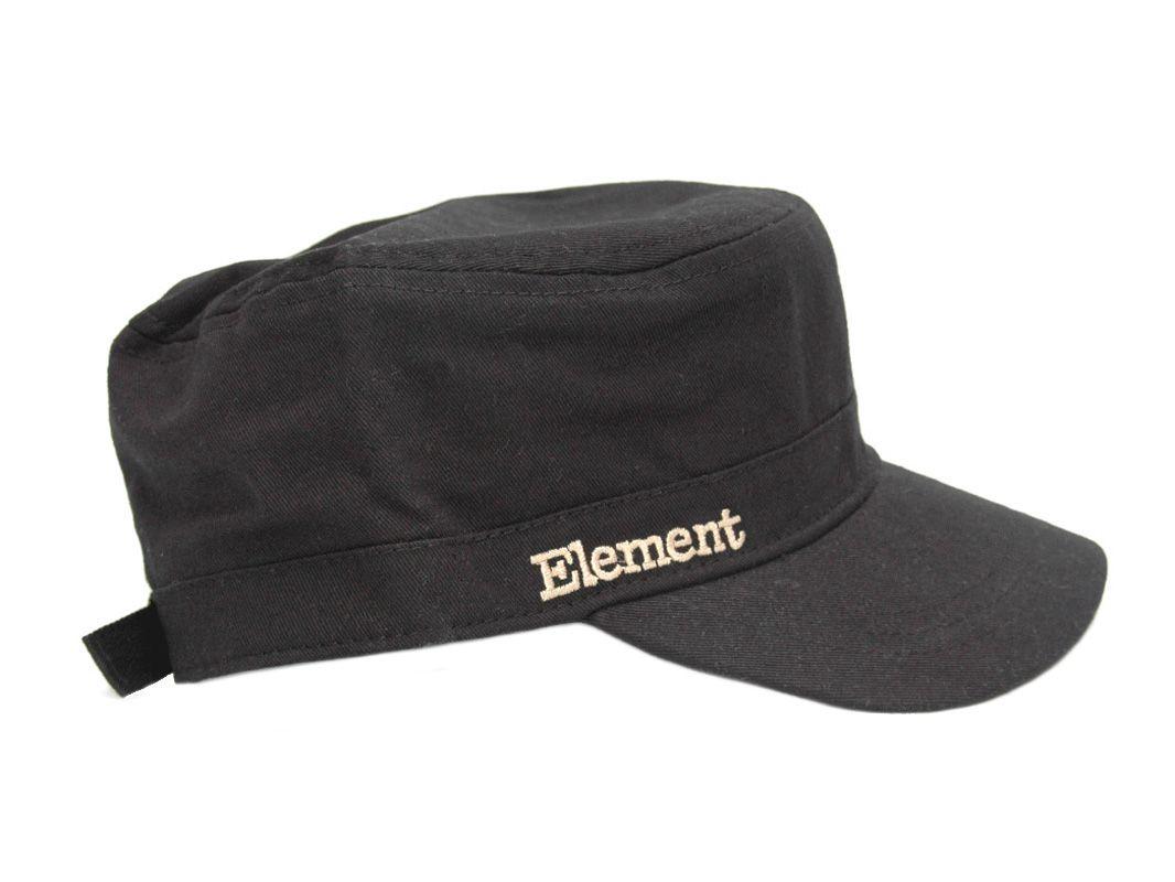 Element Cadet Cap C-1 Black  bbf923aeb89a
