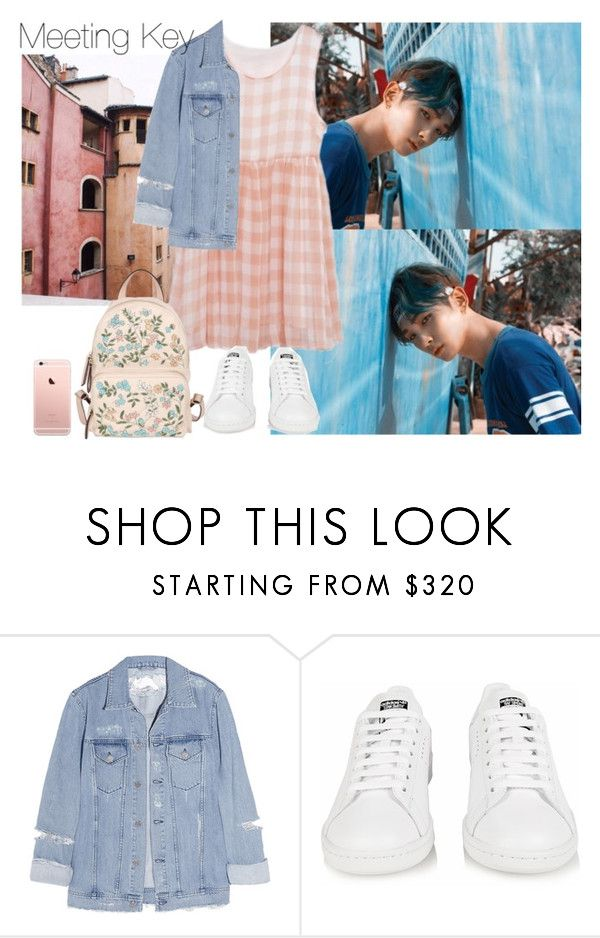 """""""Meeting Key (requested)"""" by theycallmebeatriz ❤ liked on Polyvore featuring Acne Studios, adidas and RED Valentino"""