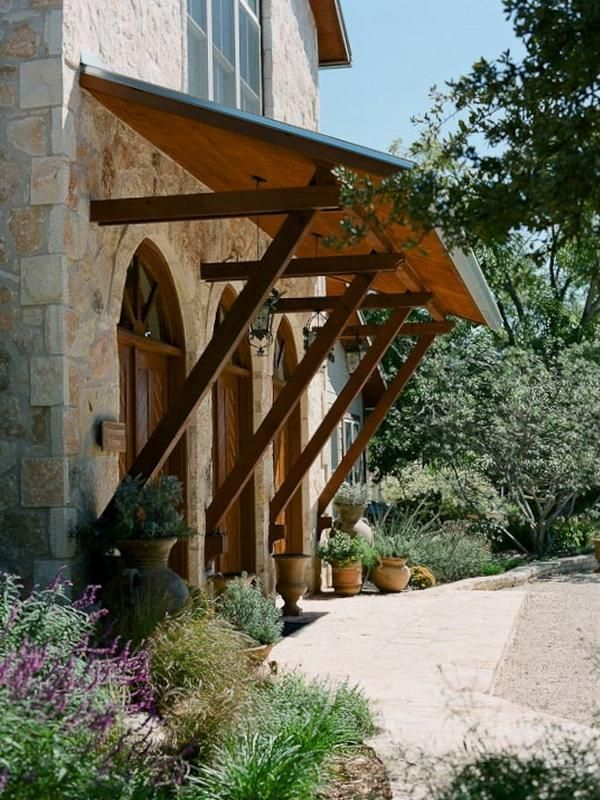 Texas Hill overhang- if I were to build my own house ... on Backyard Overhang Ideas id=93063