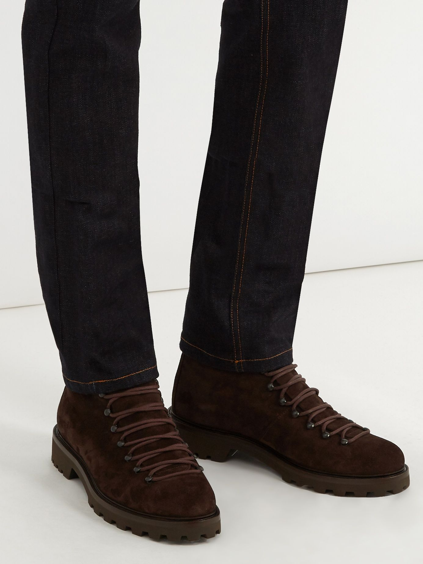 Brown Suede Jura Boots A.P.C. Uy7gImVC