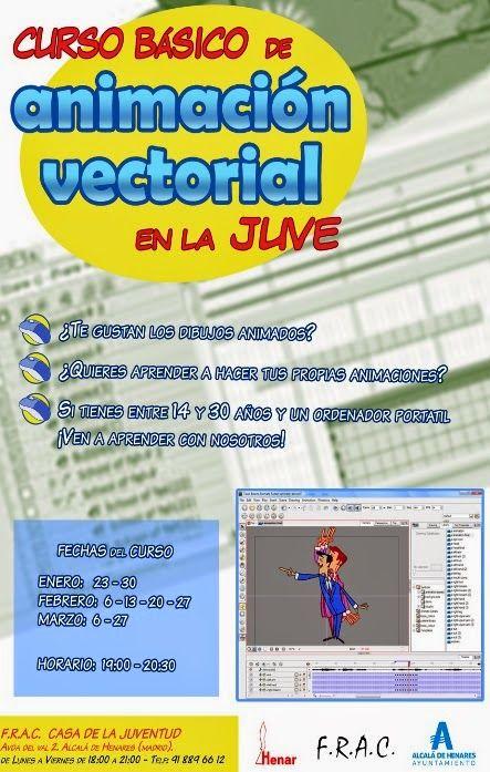CURSOS Y FORMACIÖN PARA EL EMPLEO: Curso básico de Animación Vectorial en la Juve