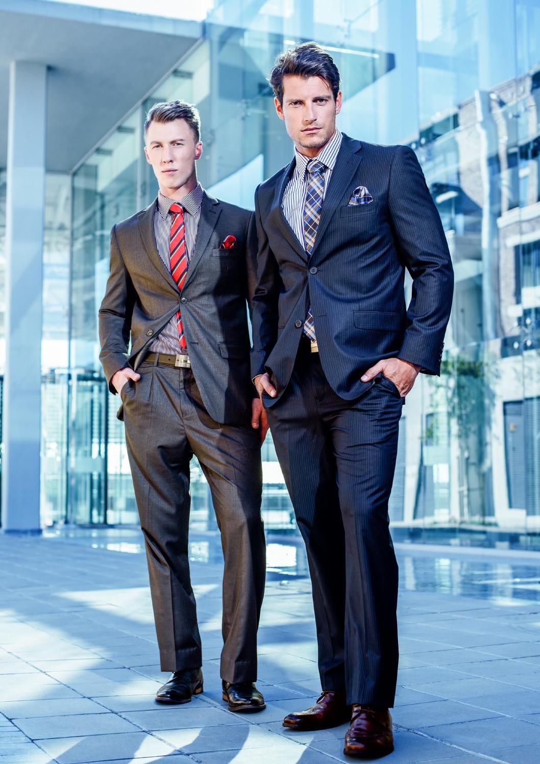 Cornamenta: Brooksfield: Tailoring hecho en Sudáfrica para el hombre cosmopolita