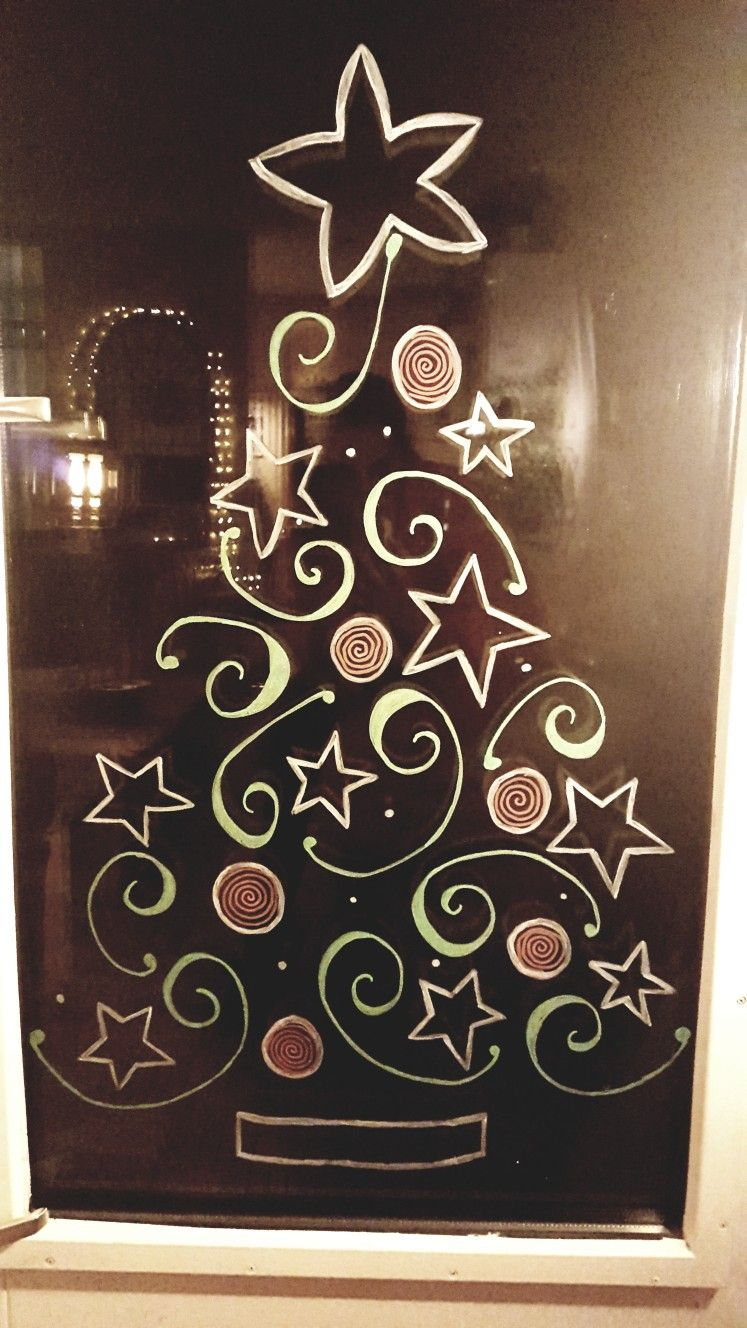 Christmas Tree Handlettering Window Painting Christmas Window Painting Christmas Tree Drawing Christmas Window Decorations
