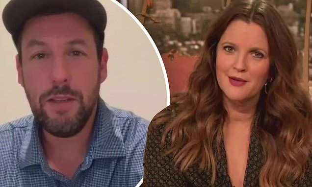 Adam Sandler And Drew Barrymore Tease Fourth Movie Together Adam Sandler Four Movie Adam Sandler Movies