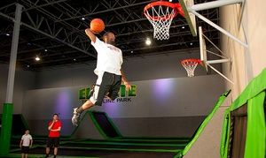 Two For Four Two Hour Jump Sessions At Elevate Trampoline Park 37 Off Trampoline Park Trampoline Family Night