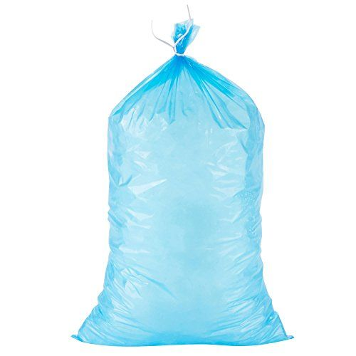 Black Cat Avenue Blue Plastic Ice Bags With Twist Ties 10 Lb 100 Pack 100 Pack With Twist Ties Provided 12 Inches Width 21 Inches Height Ice Bag Ebay Bags