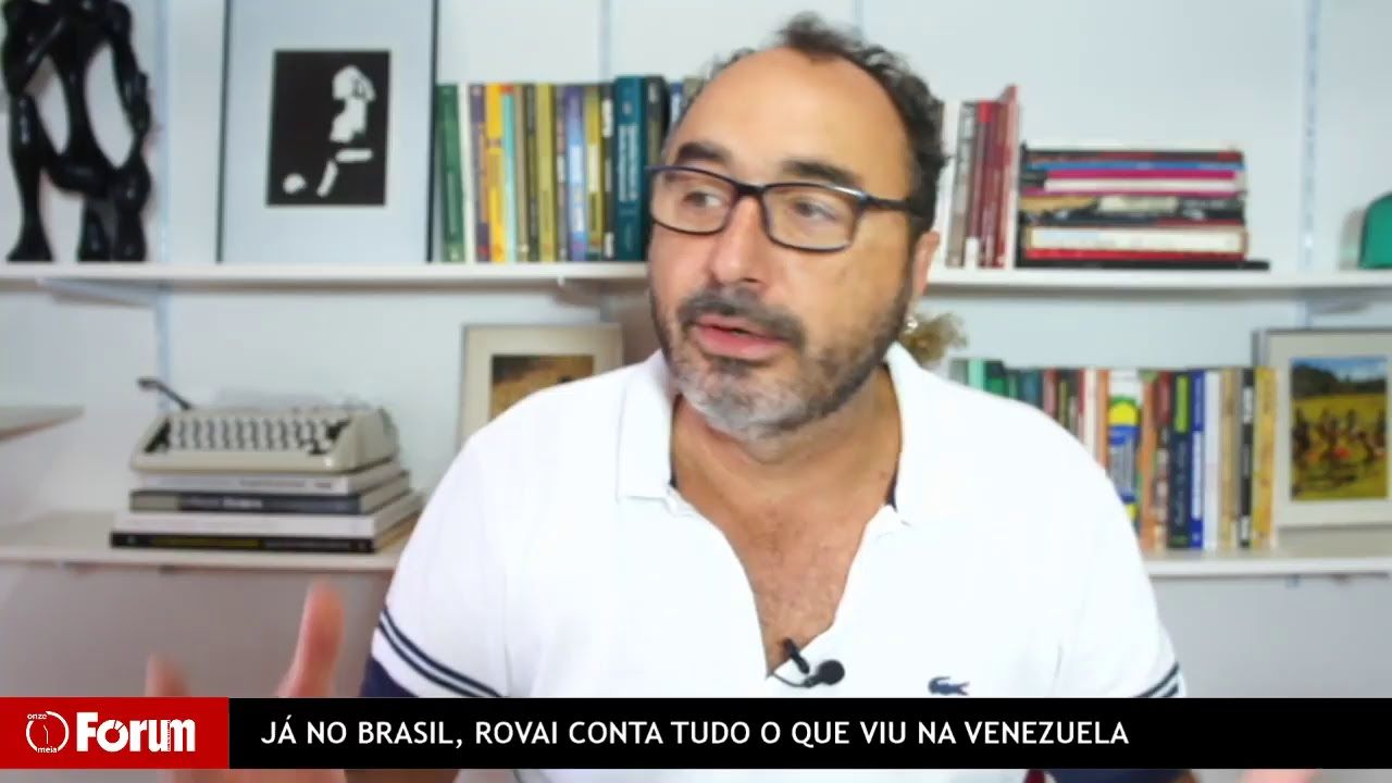 Forum Onze E Meia Ja No Brasil Rovai Conta Tudo O Que Viu Na