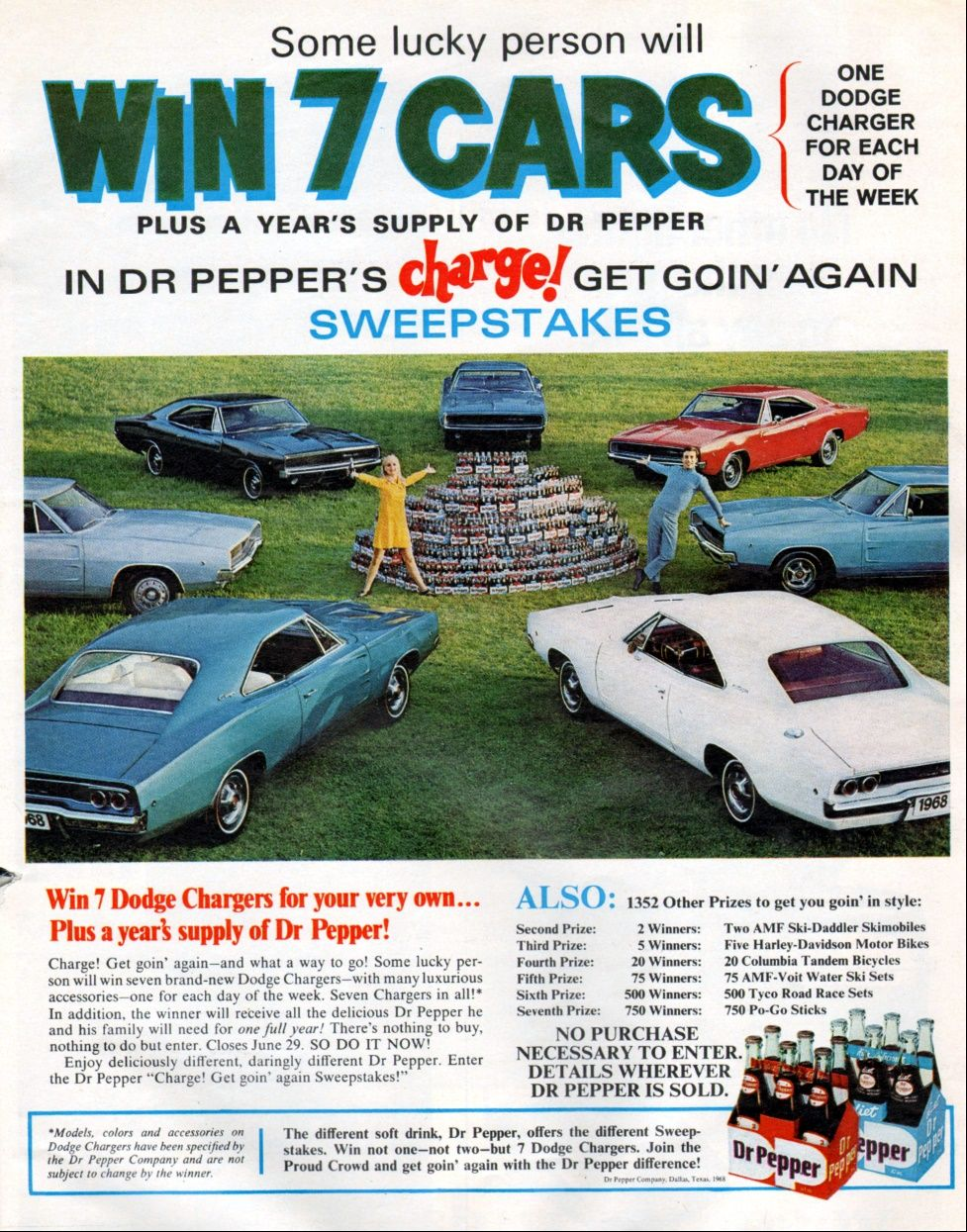 Dr Pepper 1968 Vintage Soft Drink Advertisements Pinterest 68 Charger Gtx 440 Wiring Diagram