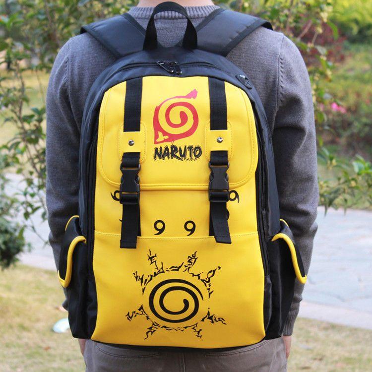 Hot Anime Naruto Backpack Uzumaki Cosplay Shoulder Bag Backpack