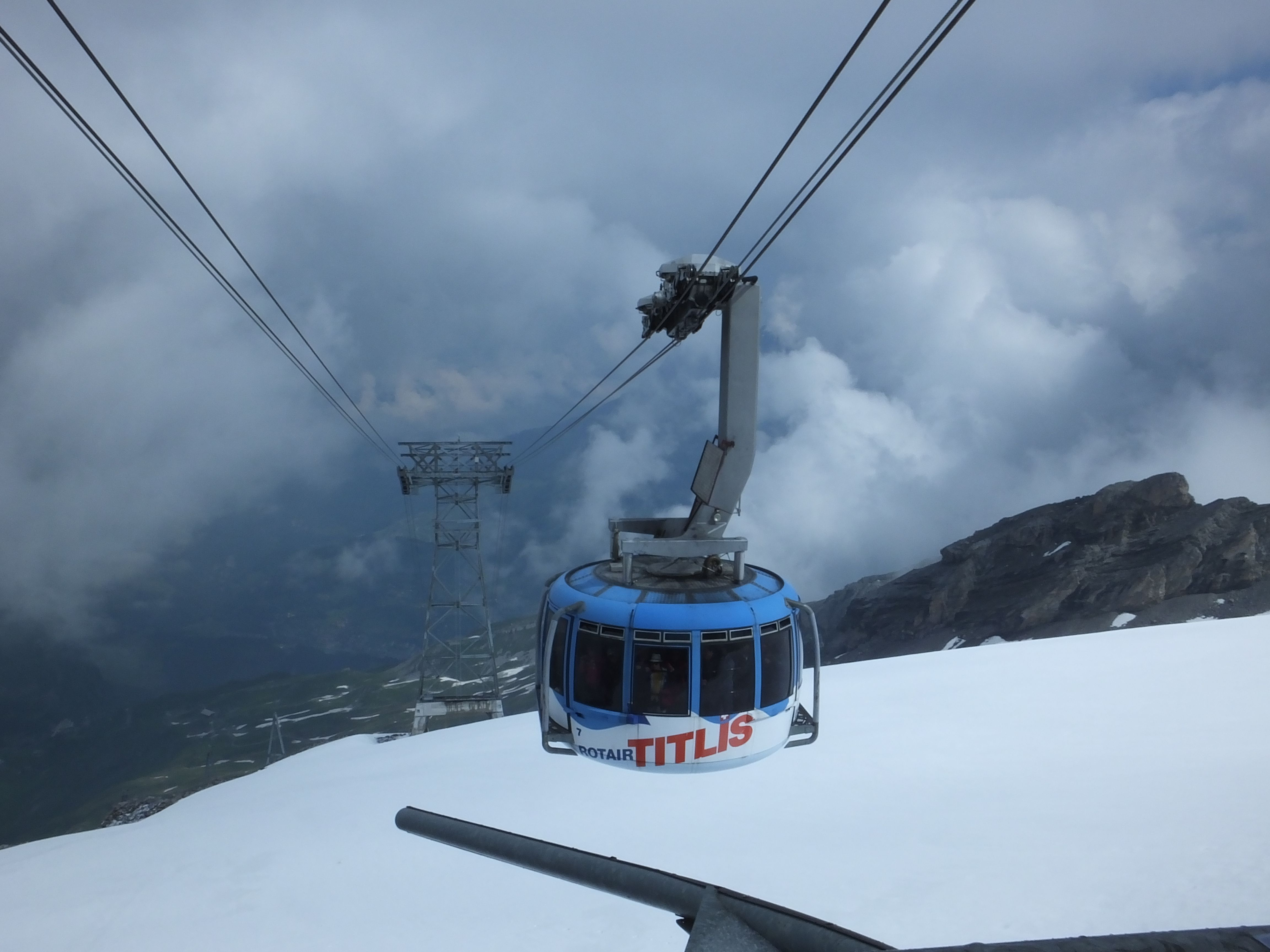 Titlis Rotair Cable Cars Tourism Mountain Designs