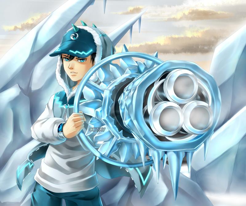 BoBoiBoy Ice by cotay on DeviantArt Anime, Phim hoạt