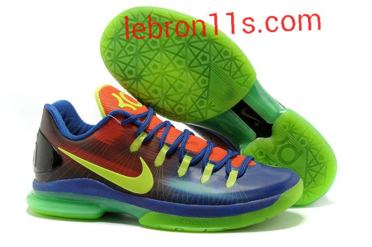 Authentic Nike KD V Elite Blue to Red Gradient Volt EYBL For Wholesale Shoes  store sell the cheap Nike KD V Elite Low online, it is high quality Nike KD  V ...