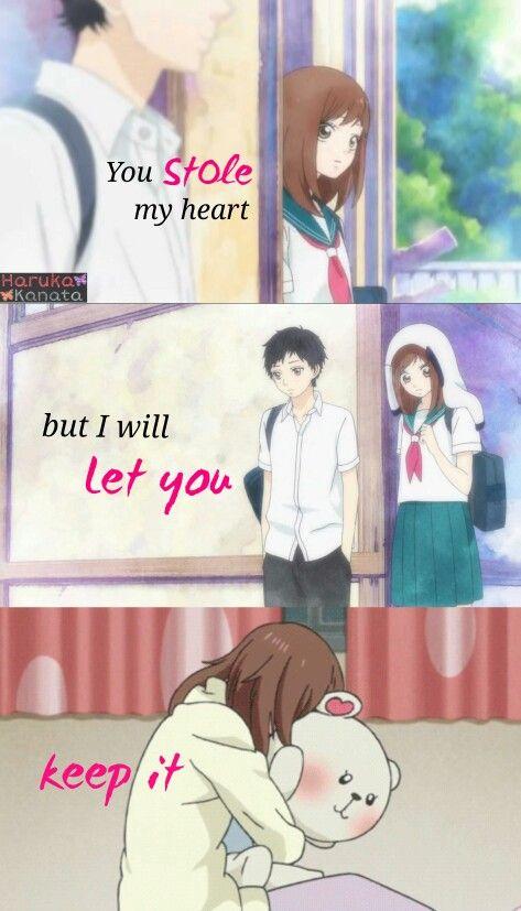 Manga Quotes, Anime Love Ve
