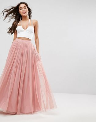 jupe longue de bal de promo en tulle tulle skirts jupe jupe longue plissee bal de promo. Black Bedroom Furniture Sets. Home Design Ideas