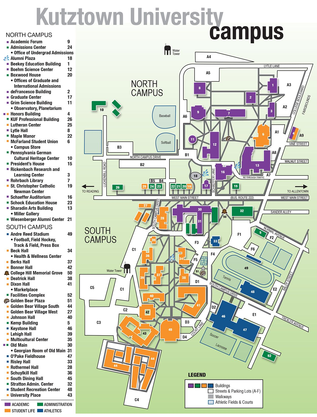 Campus Map Field Study Ku Wayfinding Pinterest