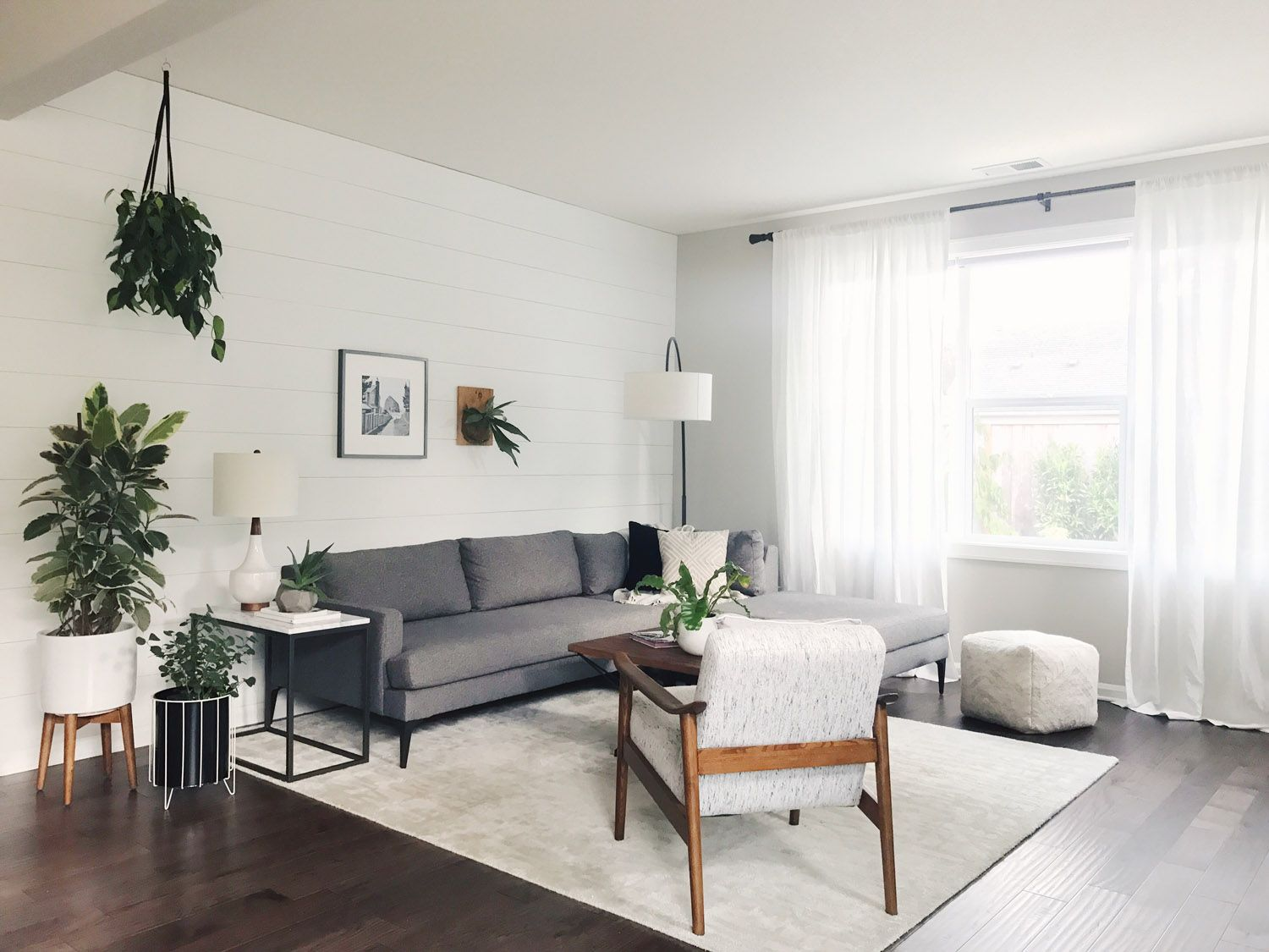 west elm - A Functional, Timeless Home In Portland | living room ...