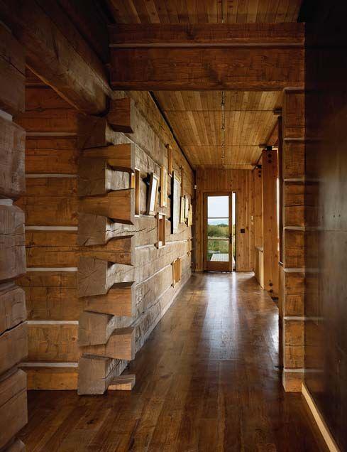Log Cabin Beautiful Like The Flat Log Walls Better Than The