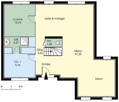 Maison à étage 1
